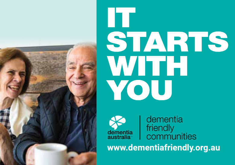 Dementia Australia It starts with you